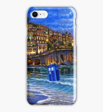 tardis beached iPhone Case/Skin