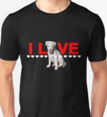 I Love Pitbulls For Life Unisex T-Shirt