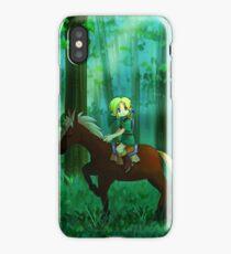 zelda cute  iPhone Case/Skin