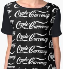 Crypto-Currency Chiffon Top