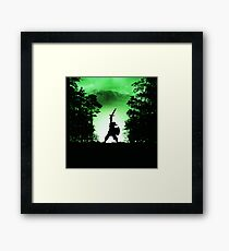 the power of zelda Framed Print