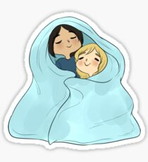 yumikuri cuddles [SnK] Sticker