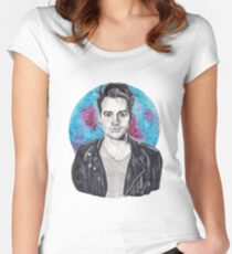 Brendon Urie Portrait Women's Fitted Scoop T-Shirt