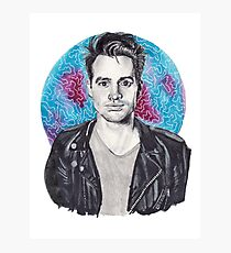 Brendon Urie Portrait Photographic Print