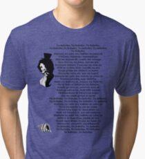 Bink sake - Black Tri-blend T-Shirt