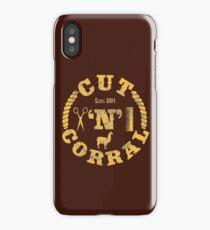 Cut 'N' Corral iPhone Case
