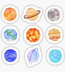 galaxies  Sticker