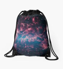The Large Magellanic Cloud, a satellite galaxy to our own Milky Way galaxy. Drawstring Bag