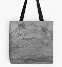 Cascade Pass and Sahale Arm  Tote Bag