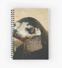 Fur Seal Spiral Notebook