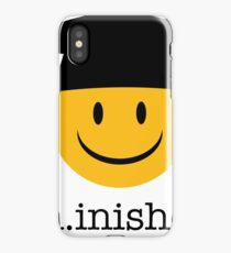 Ph.inishe.d Phd Doctoral Cap Smiley iPhone Case
