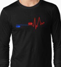 Blue Pill Red Bill Long Sleeve T-Shirt