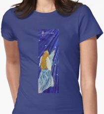 Angel.My Blue Angel Womens Fitted T-Shirt