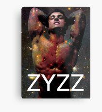 Zyzz - Son of Zeus, Brother of Hercules, Father of Aesthetics Metal Print