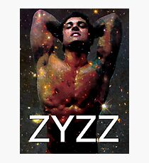Zyzz - Son of Zeus, Brother of Hercules, Father of Aesthetics Photographic Print