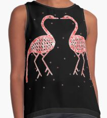 GREEK FLAMINGO Contrast Tank
