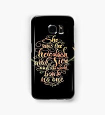 heir of ash and fire Samsung Galaxy Case/Skin