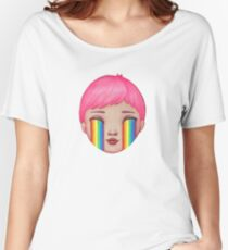 Over the Clouds Women's Relaxed Fit T-Shirt