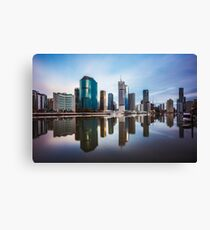 Brisbane Reflections Canvas Print