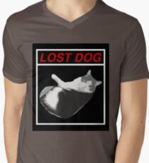 Lost Dog Mens V-Neck T-Shirt