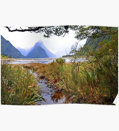 Milford Sound. South Island. New Zealand. Poster