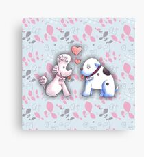 Butch and Muffin Canvas Print