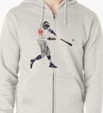 Baseball Zipped Hoodie