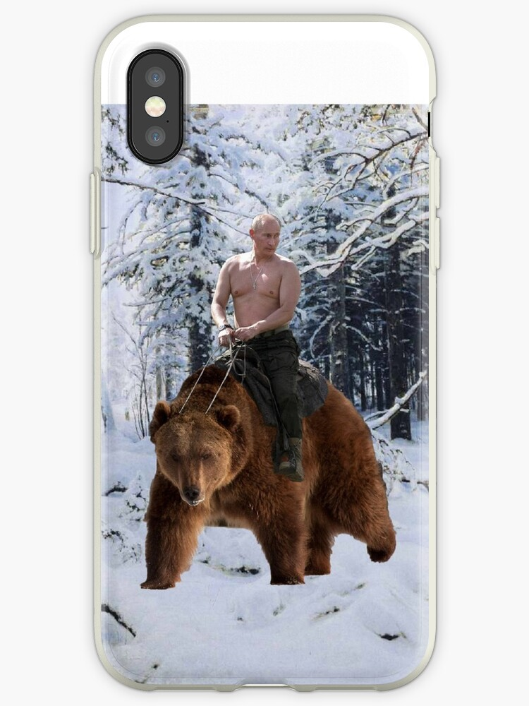 Putin on a bear by qweriz