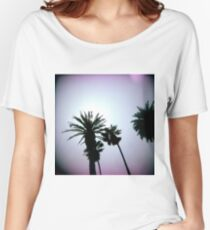 Holga Palms Women's Relaxed Fit T-Shirt