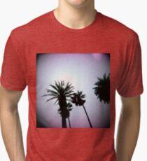 Holga Palms Tri-blend T-Shirt