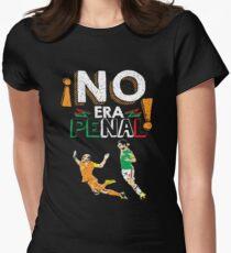 No Era Penal (It wasn't a penalty) Women's Fitted T-Shirt
