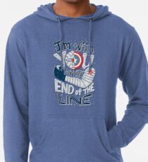 Till the end of the line Lightweight Hoodie