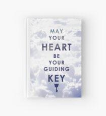 Cuaderno de tapa dura Que tu corazón sea tu llave guía - Versión de fondo