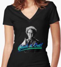 DR. BRULE STEVE Women's Fitted V-Neck T-Shirt