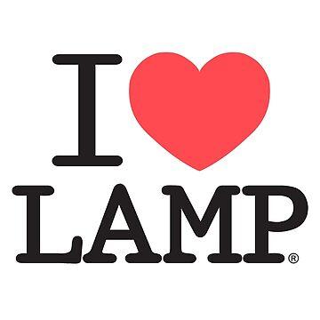 I love Lamp by WayneNichols