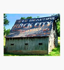 See Rock City Photographic Print