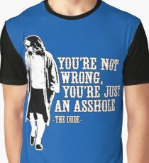 The Big Lebowski - quote Graphic T-Shirt