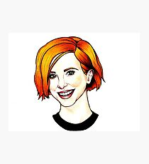 Hayley Williams Photographic Print