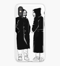 brand new - the devil and god  iPhone Case/Skin