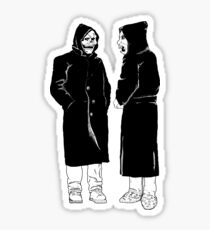 brand new - the devil and god  Sticker