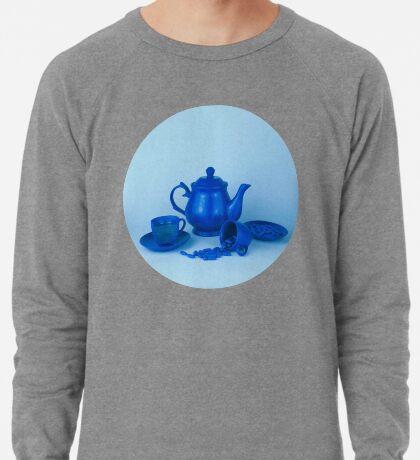 Blue Tea Party Wahnsinn Stillleben Leichter Pullover
