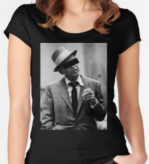 unidentified Frank Sinatra Women's Fitted Scoop T-Shirt