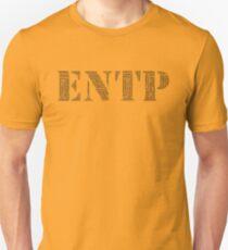 ENTP Descriptve Word Cloud Slim Fit T-Shirt