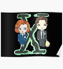 Mulder y Scully Poster