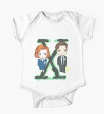 Mulder y Scully Kids Clothes