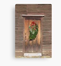 Touch Of Christmas Canvas Print