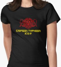 crimson typhoon Women's Fitted T-Shirt