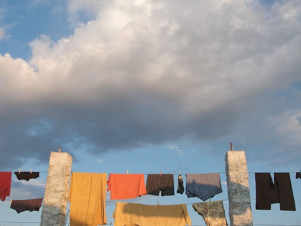 Pilgrim laundry by Richard McCaig