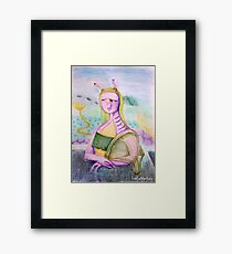 Reneissance in an underwater civillization far far away Framed Print