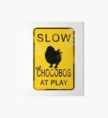 Slow Chocobos Art Board